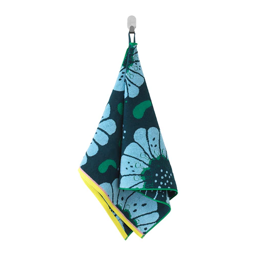 САНДВИЛАН Банное полотенце, синий, разноцветный 50х100