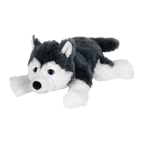 ЛИВЛИГ Мягкая игрушка, собака, сибирский хаски, 26 см