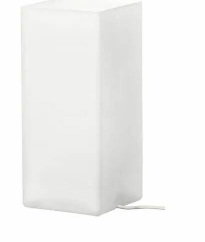 ГРЁНЕ Лампа настольная, матовое стекло белый