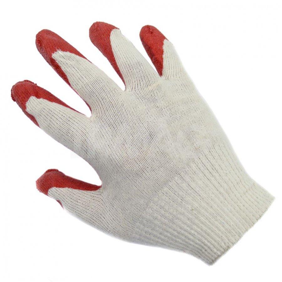Перчатки  с одинарным обливом латекса 13 класс