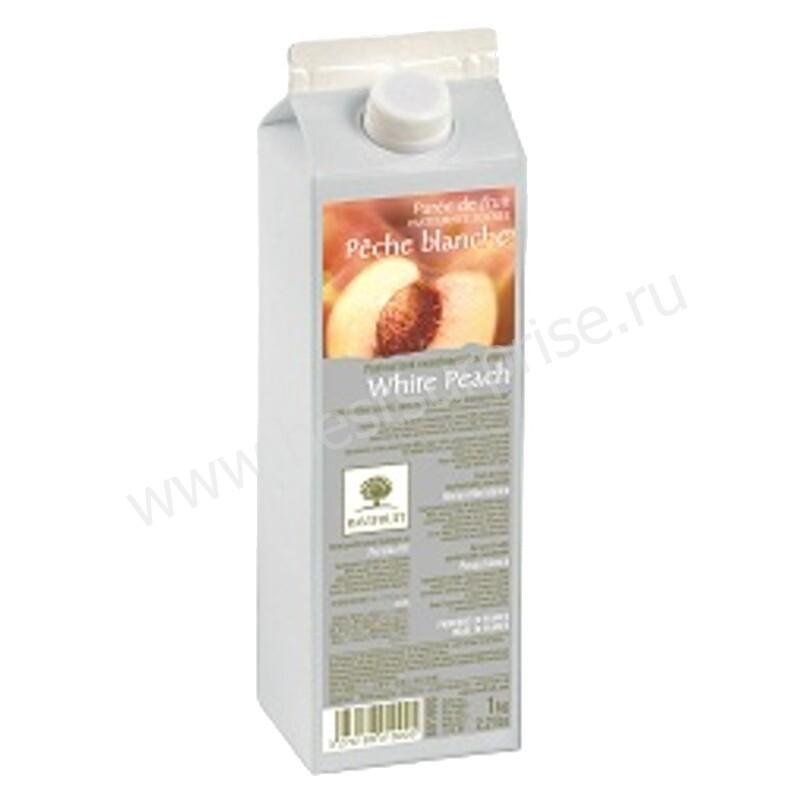 Пюре фруктовое Ravifruit Белый персик в тетрапаке, пастеризованное 1 кг