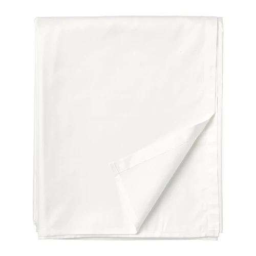 НАТТЭСМИН Простыня, белый 150х260