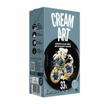 Крем на растительных маслах комбинированный без сахара CreamArt, 33%, 1л