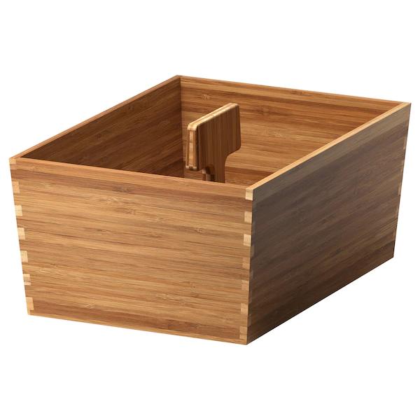 ВАРЬЕРА Ящик с ручкой, бамбук