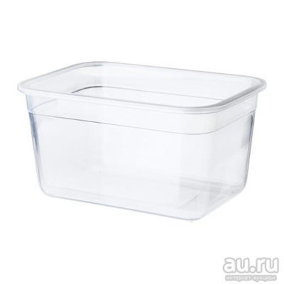 ИКЕА/365+, контейнер для продуктов 21х15х11/ 2л