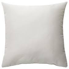 КРОНЭРТ, подушка, белый, 40x40 см