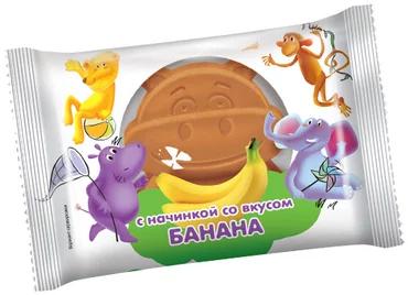 Бисквит со вкусом банана, 30 г