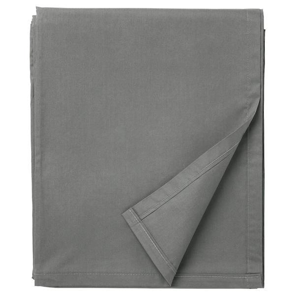 УЛЛЬВИДЕ Простыня, серый, 240x260 см