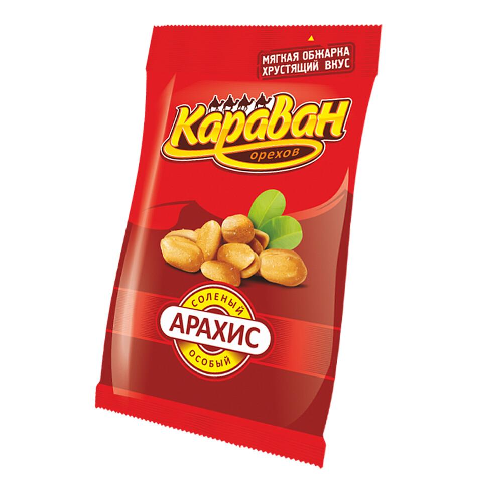 АРАХИС соленый особый, Караван орехов 200 гр.