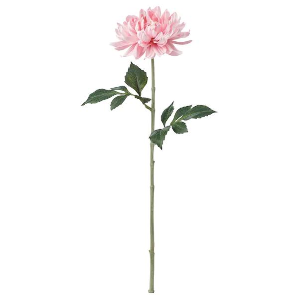 СМИККА Цветок искусственный Георгин, светло-розовый 75 см