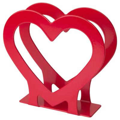 ВИНТЕРФЕСТ Салфетница, сердце, красный