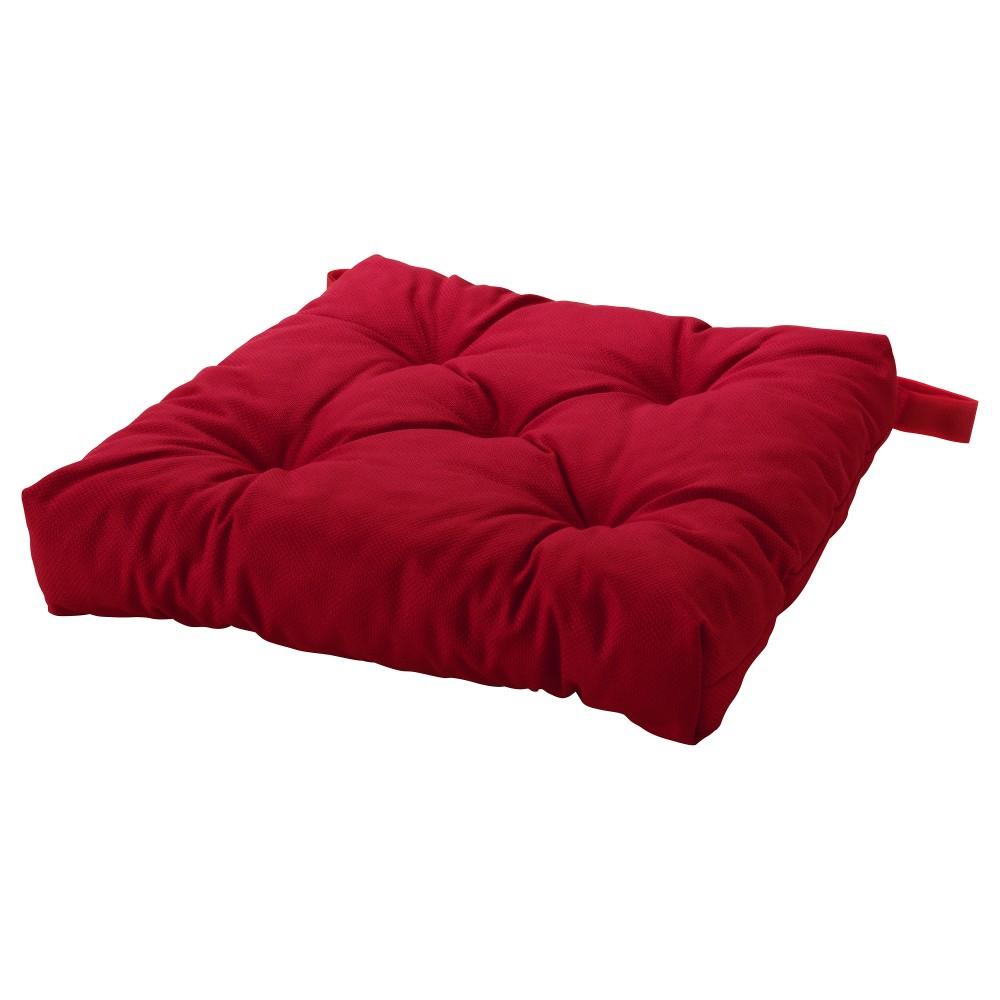 МАЛИНДА, подушка на стул, красный