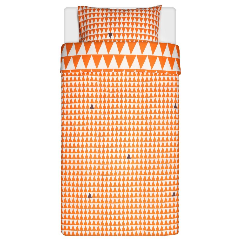 СТИЛЛСАМТ Пододеяльник и 1 наволочка, светло-оранжевый