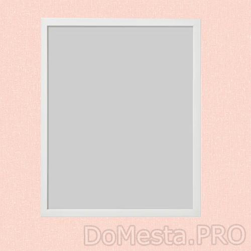 ФИСКБУ Рама, белый, 40x50 см