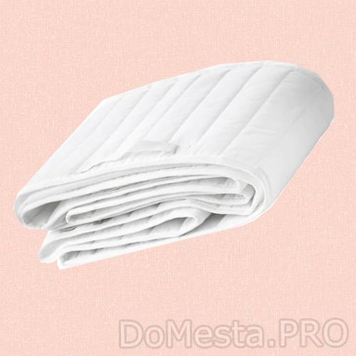 ЛЕН Мягкий бортик, белый, 60x120 см