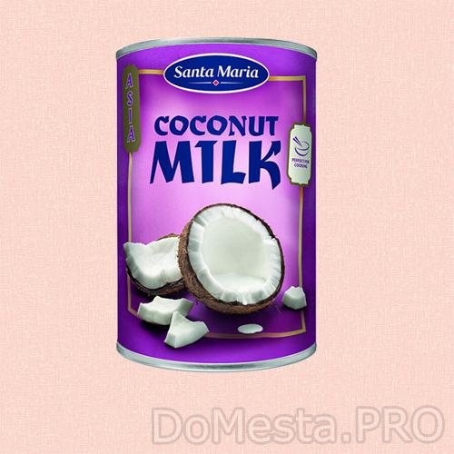 Молоко кокосовое Santa Maria 400 мл