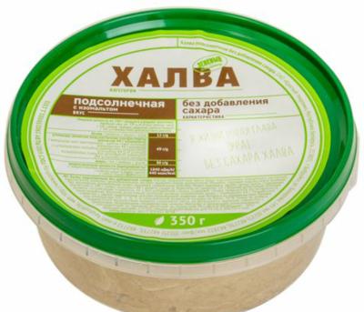 Халва без сахара (с изомальтом), 350 гр, Красный пищевик