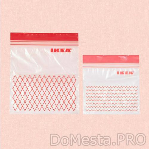 ИСТАД Пакет пластиковый, красный