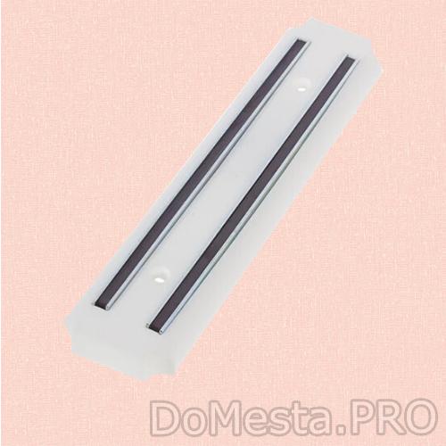 Держатель ножей магнитный 20 см, цвет белый