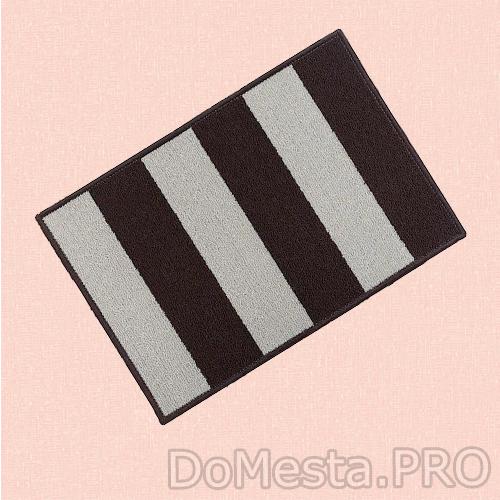 СТАВН Придверный коврик, бежевый/коричневый, 40x60 см