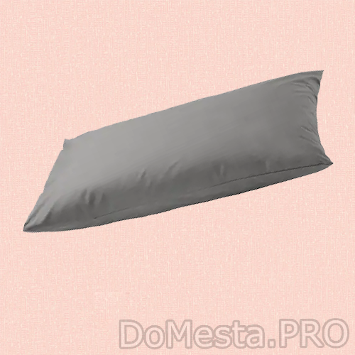 УЛЛЬВИДЕ Наволочка, серый, 50x70 см