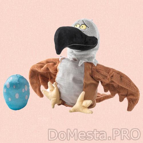 ЛАТТО Кукла перчаточная, орел/ 30 см