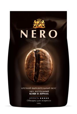 Кофе Ambassador Nero зерно пакет 1000г,