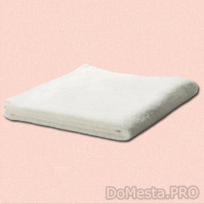 ГЭРЕН Полотенце, белый, 50x100 см