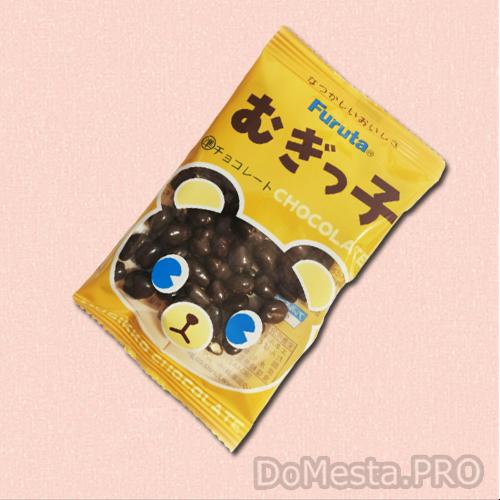 Драже шоколадное Mugikko, FURUTA, 13 гр