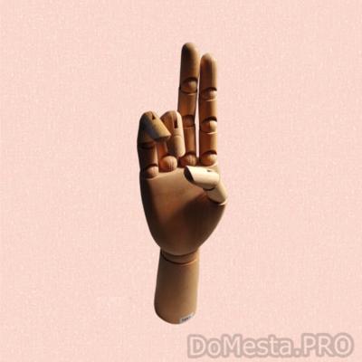 Манекен в форме руки (кисти)