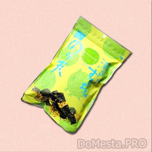 Снек из водорослей нори в кляре со вкусом цитруса Судачи, 65 г.