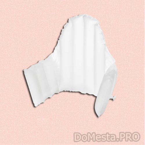 АНТИЛОП Поддерживающая подушка, белый