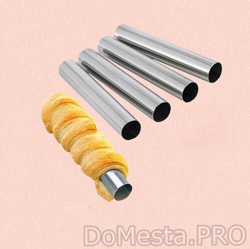Набор форм для круассанов и трубочек