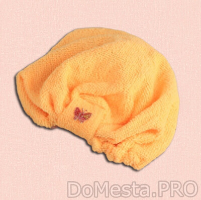 Чалма для сауны/душа, микрофибра, цвет МИКС