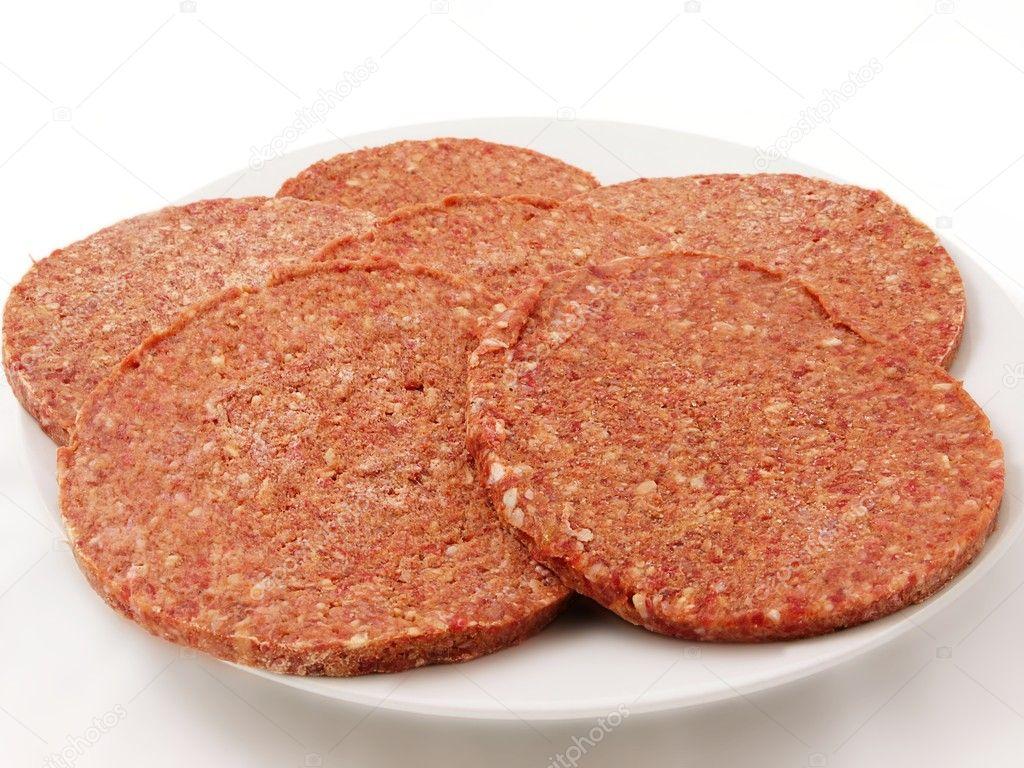 Котлета для бургеров из говядины 6*90 г., п/ф замороженный