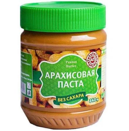 Паста арахисовая без сахара, 340 г.