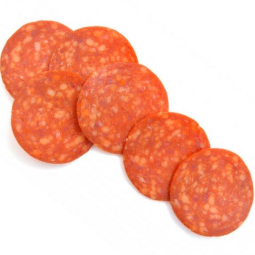 """Колбаса варено-копченая """"пеперони"""" в нарезке (замороженное) 0,5 кг"""