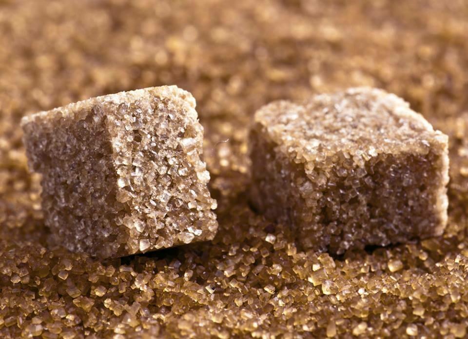 Сахар коричневый кусковой, 1 кг
