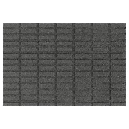СИВЕСТЕД Придверный коврик, темно-серый, 40x60 см