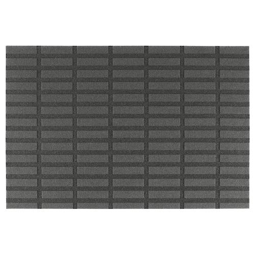 СИВЕСТЕД Придверный коврик, темно-серый, 60x90 см