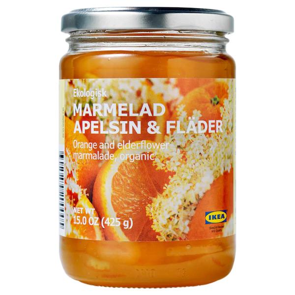 Джем из апельсина и цветов бузины MARMELAD APELSIN & FLÄDER, 0,425 кг.