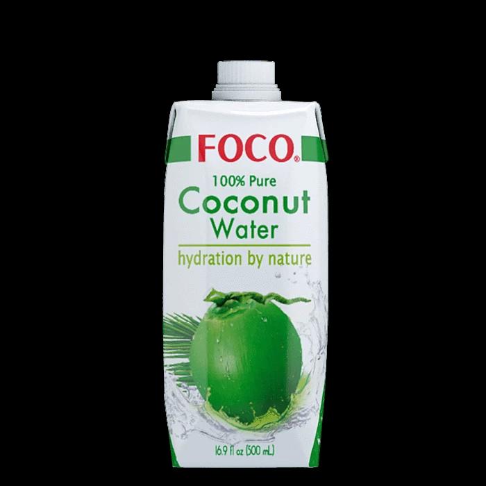 """Кокосовая вода """"FOCO"""", 0,33 л."""