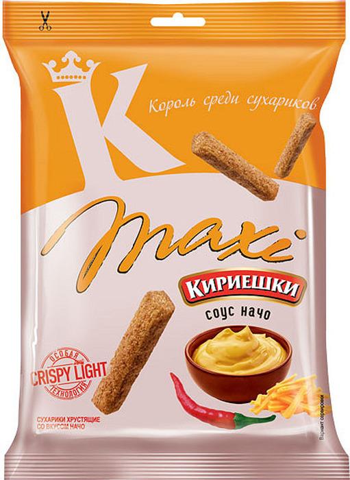 Сухарики Кириешки, начо, maxi, 60гр