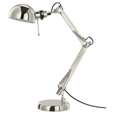 ФОРСО Лампа рабочая, никелированный