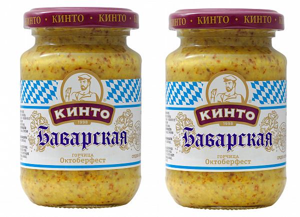 "Горчица Баварская Октоберф ""Кинто"" 170 мл."