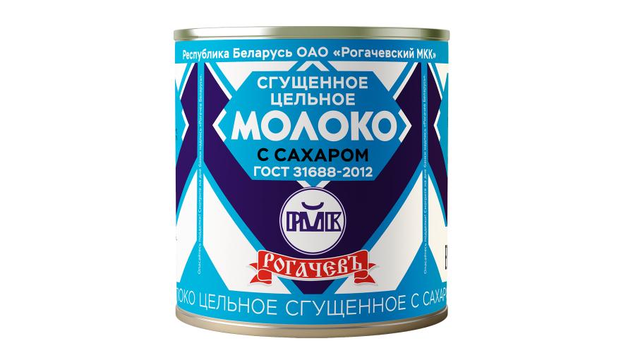 Молоко Сгущенное Рогачевъ 380г ГОСТ 53436-209 380г (Белоруссия)