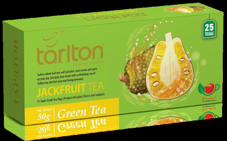 Чай зеленый Тарлтон Джекфрут, (25 п*2 г), 50 г