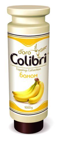 "Топпинг Colibri D`oro ""Банан"" 1 кг"