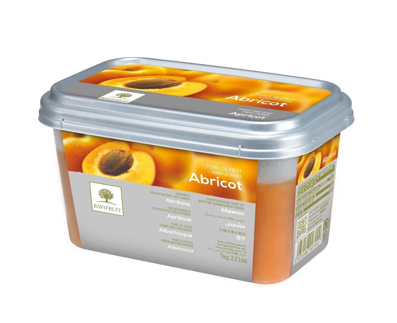 Пюре из абрикоса с/м 10% сахара 1 кг, Франция, Ravifruit