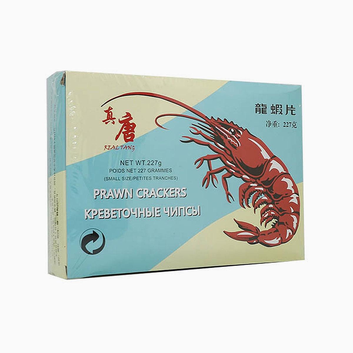 Креветочные чипсы (полуфабрикат для обжарки) Real tang, 227 г.
